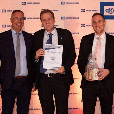 Nominierung für den Supplier Contribution Award