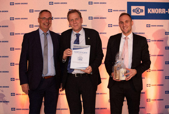 Nominierung für den Supplier Contribution Award