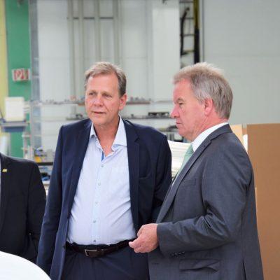 Umweltminister Franz Untersteller zu Besuch bei Junker-Filter