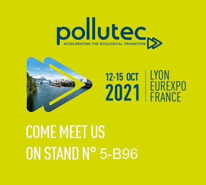 Messe POLLUTEC 2021 in Frankreich, Lyon